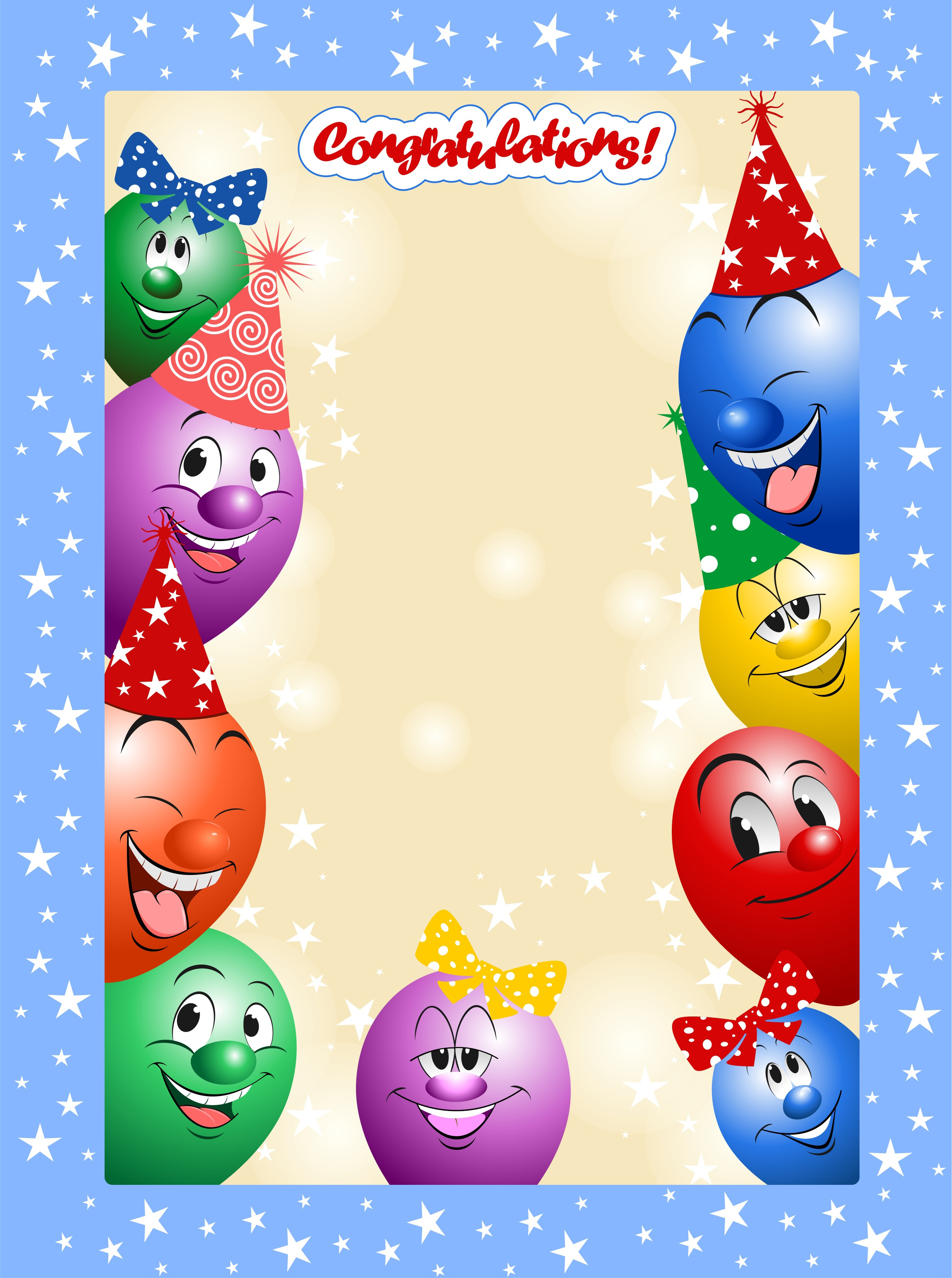 birthday, holiday, ball, funny, smile, cartoon,