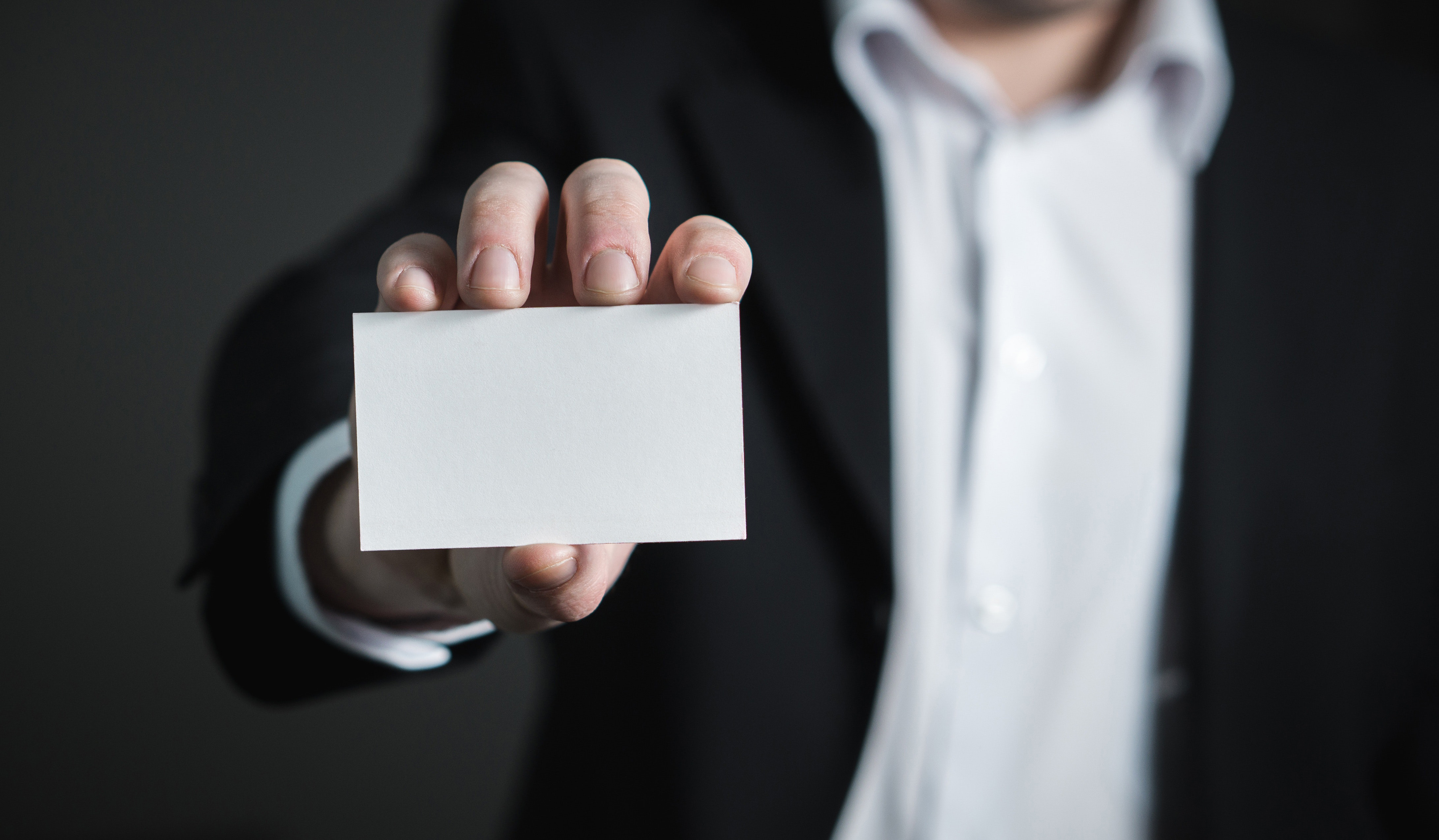 Business card, blank, office, paper, white, ,marketing