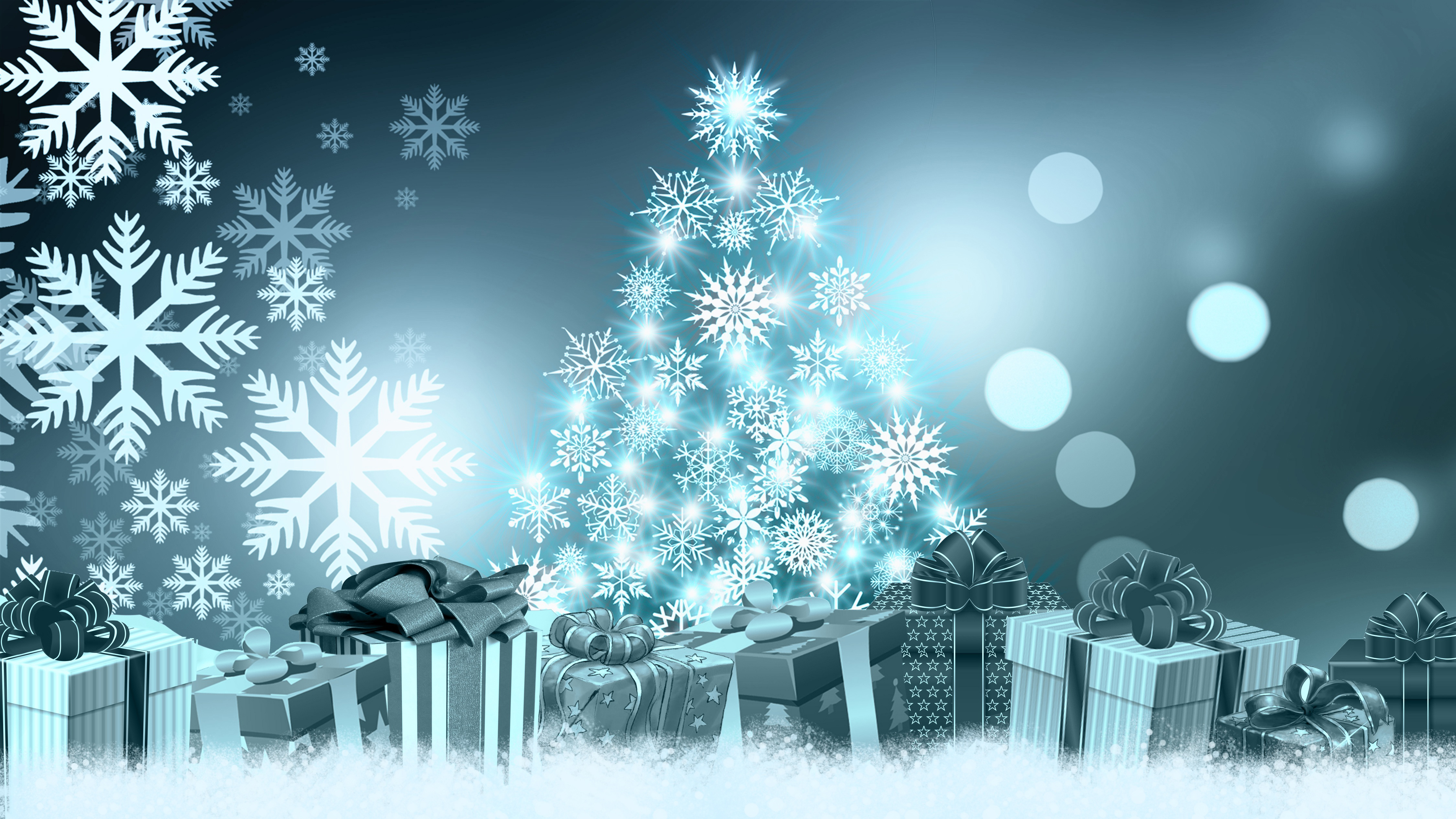 Christmas background, holiday, gifts, bright