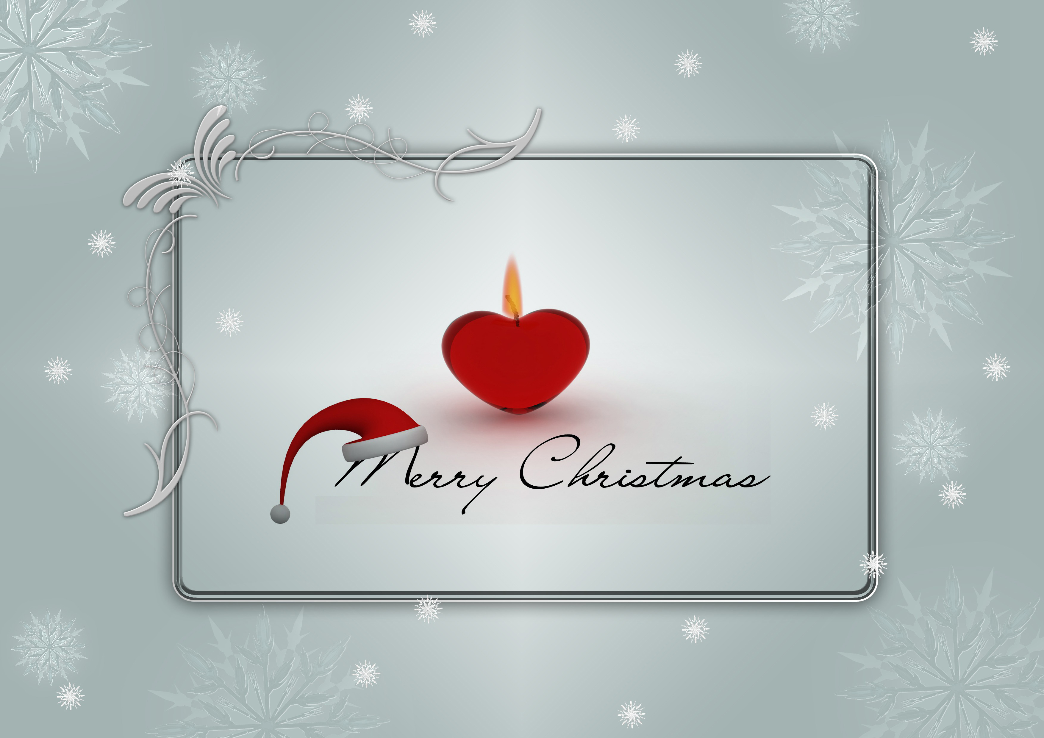 Christmas greeting, winter, map, candle, advent