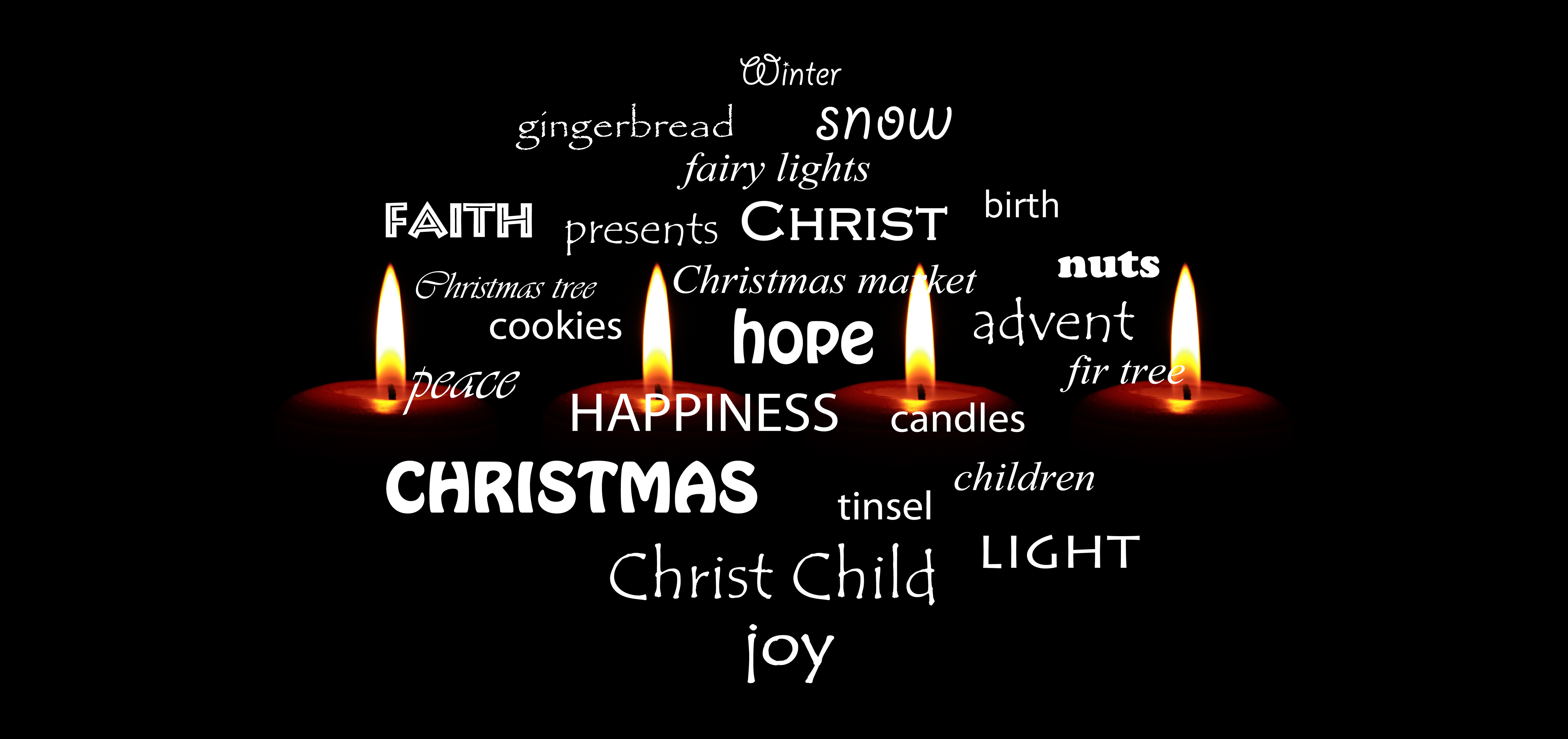 Christmas time, decoration, text, golden