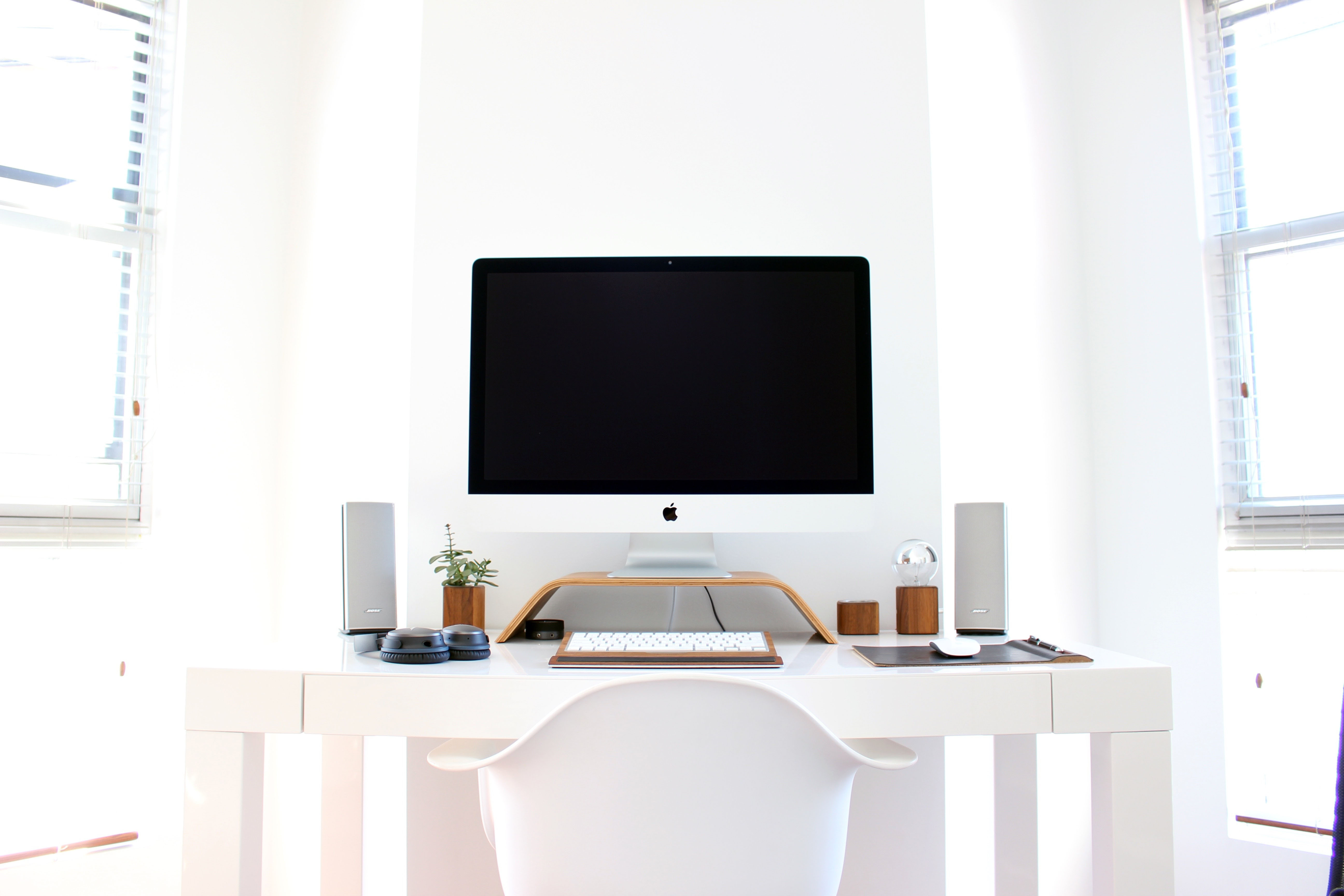 electronic,  computer,  desk, table