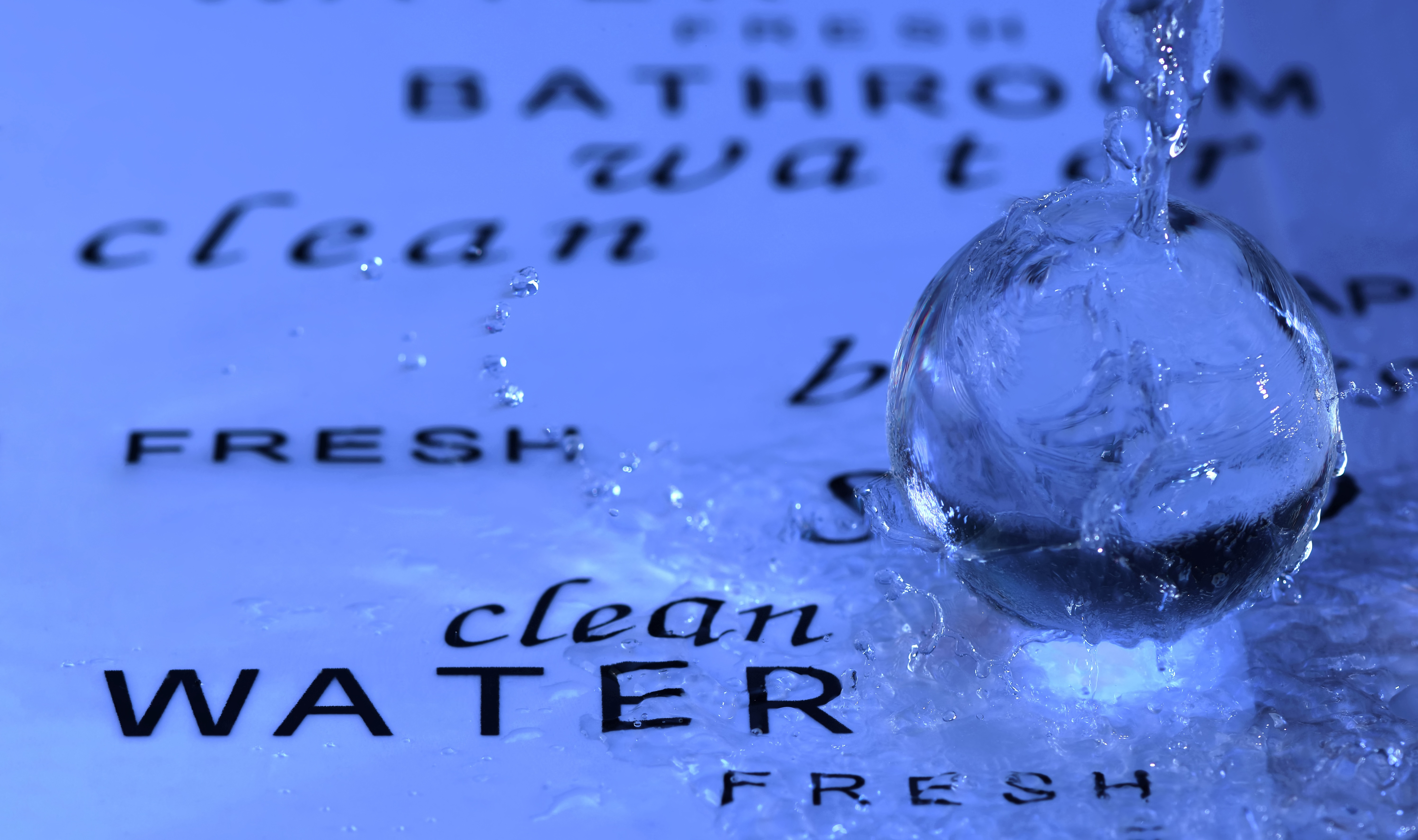 water, clear, wet, spray, inject,