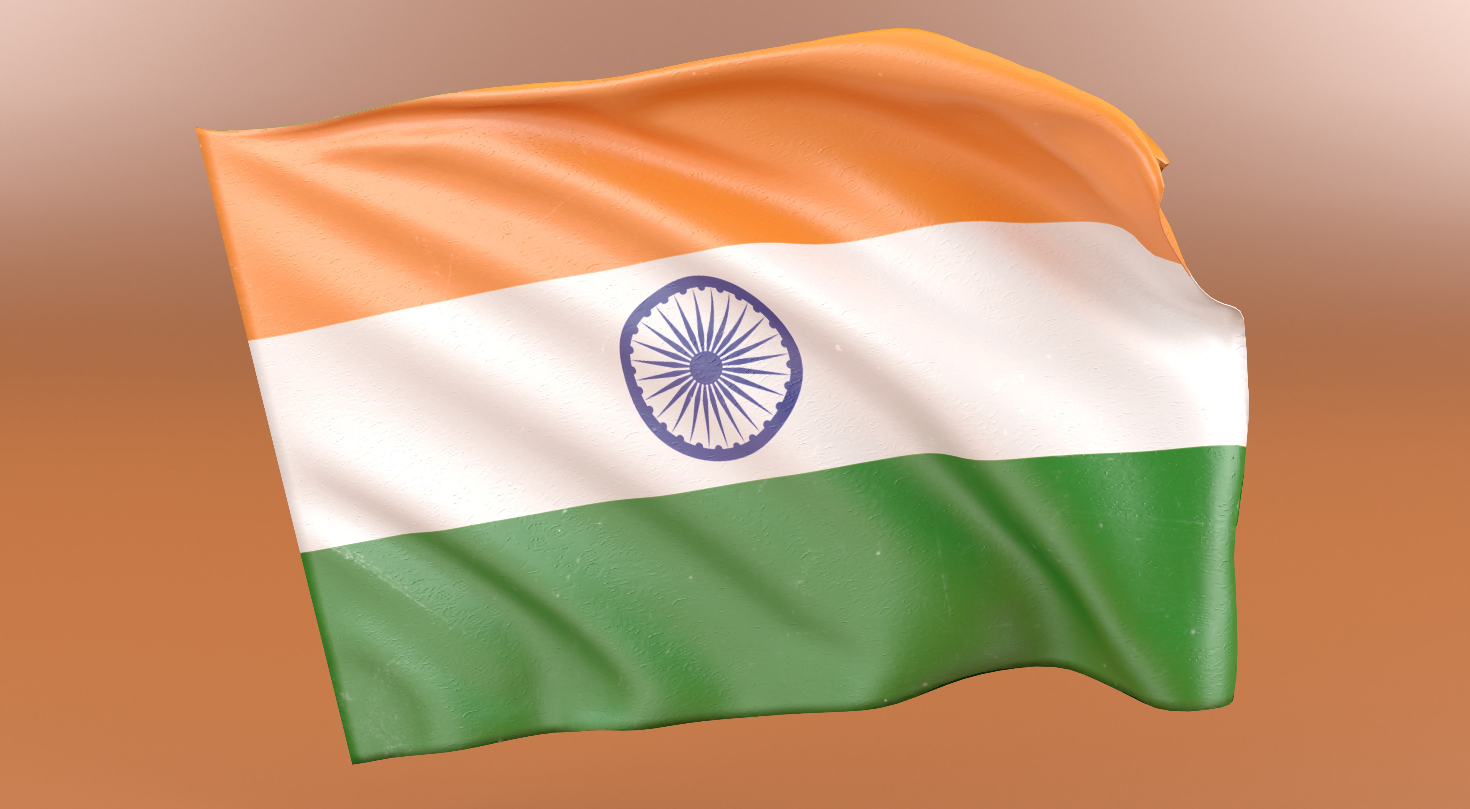 indian flag, national, india, country,