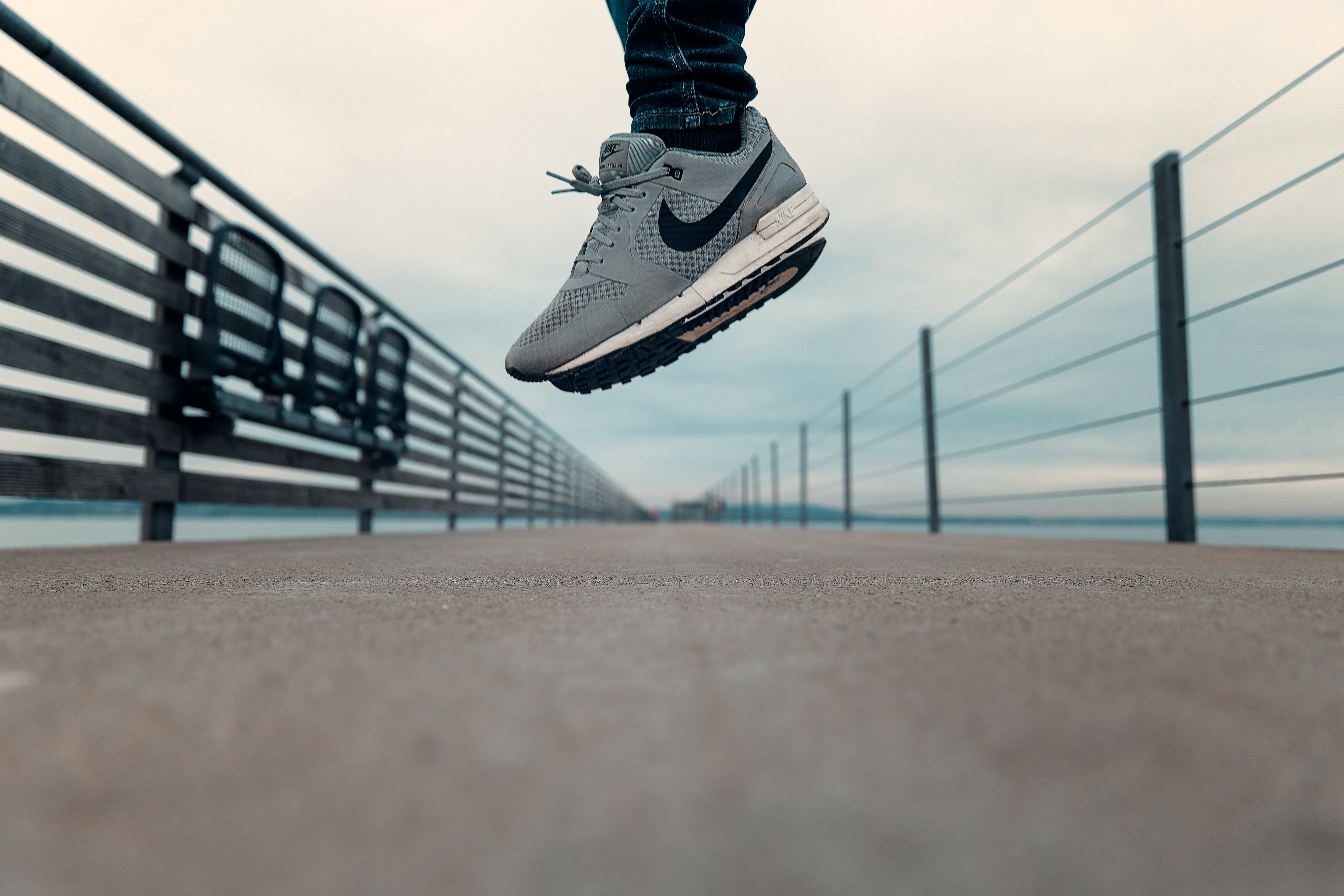 Jumping,concrete,nike,action