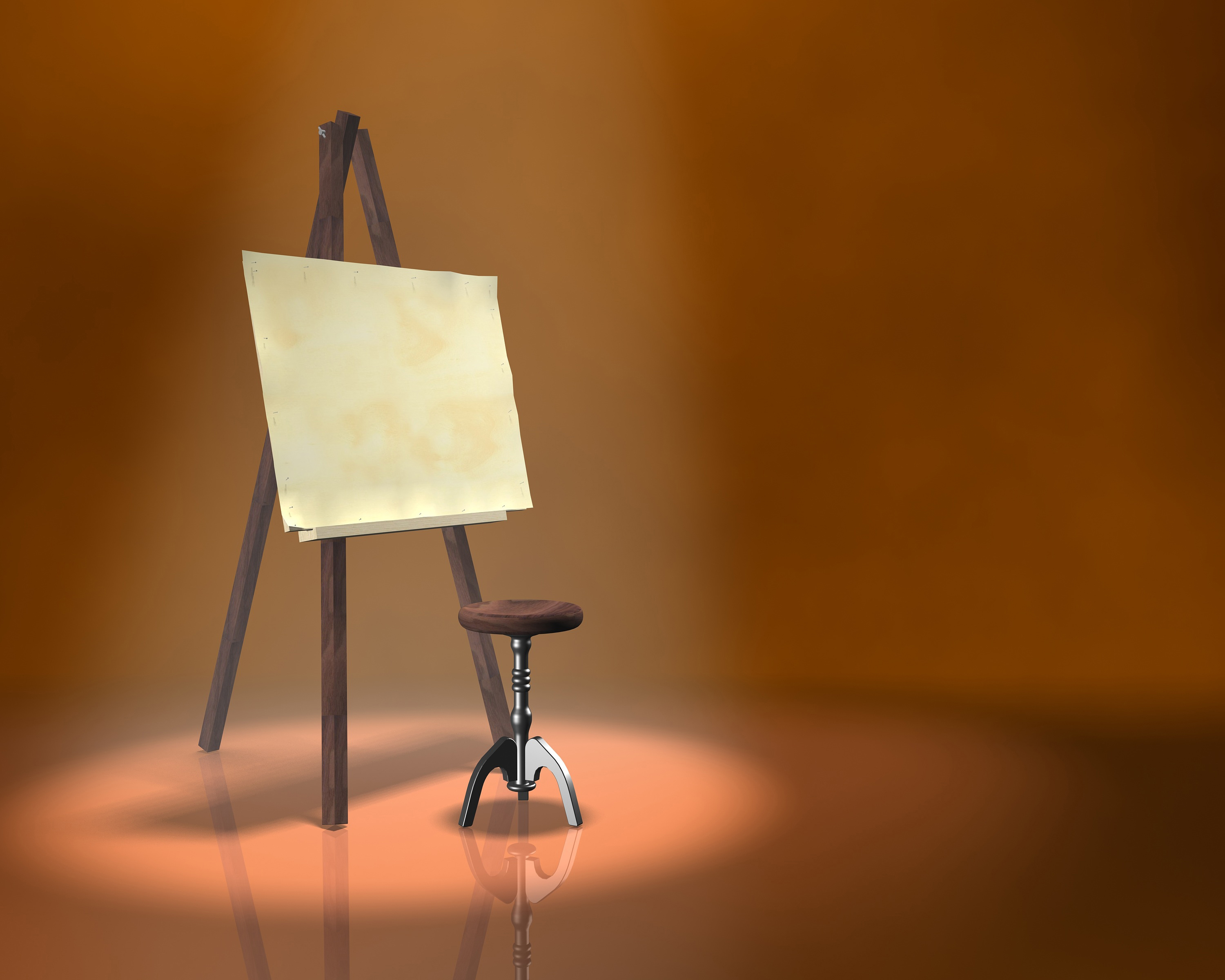 painting board,easel,artist