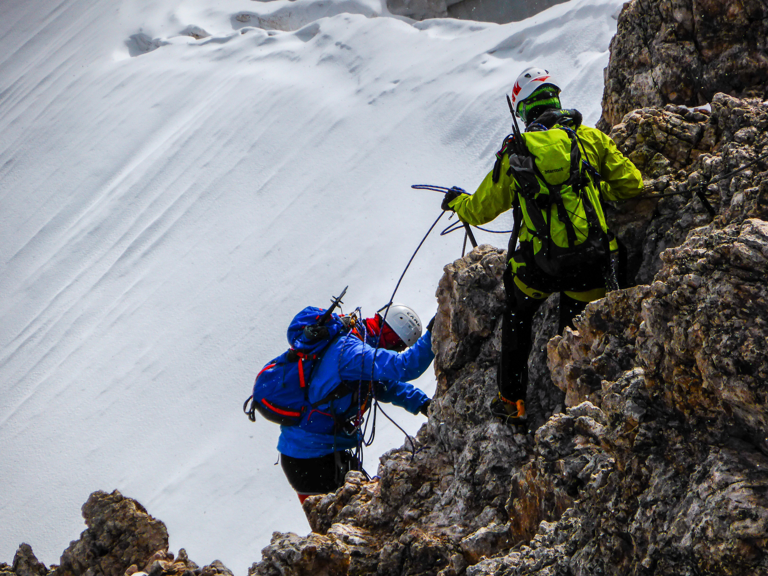 rock climbing, snow, ice, mountaineers, alino,