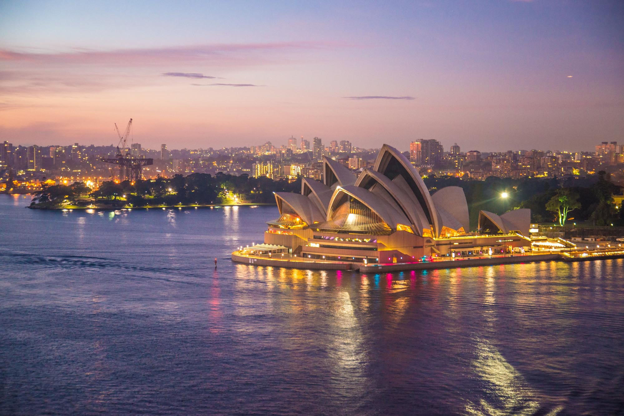 harbour,cityscape,water,evenuing,sydney