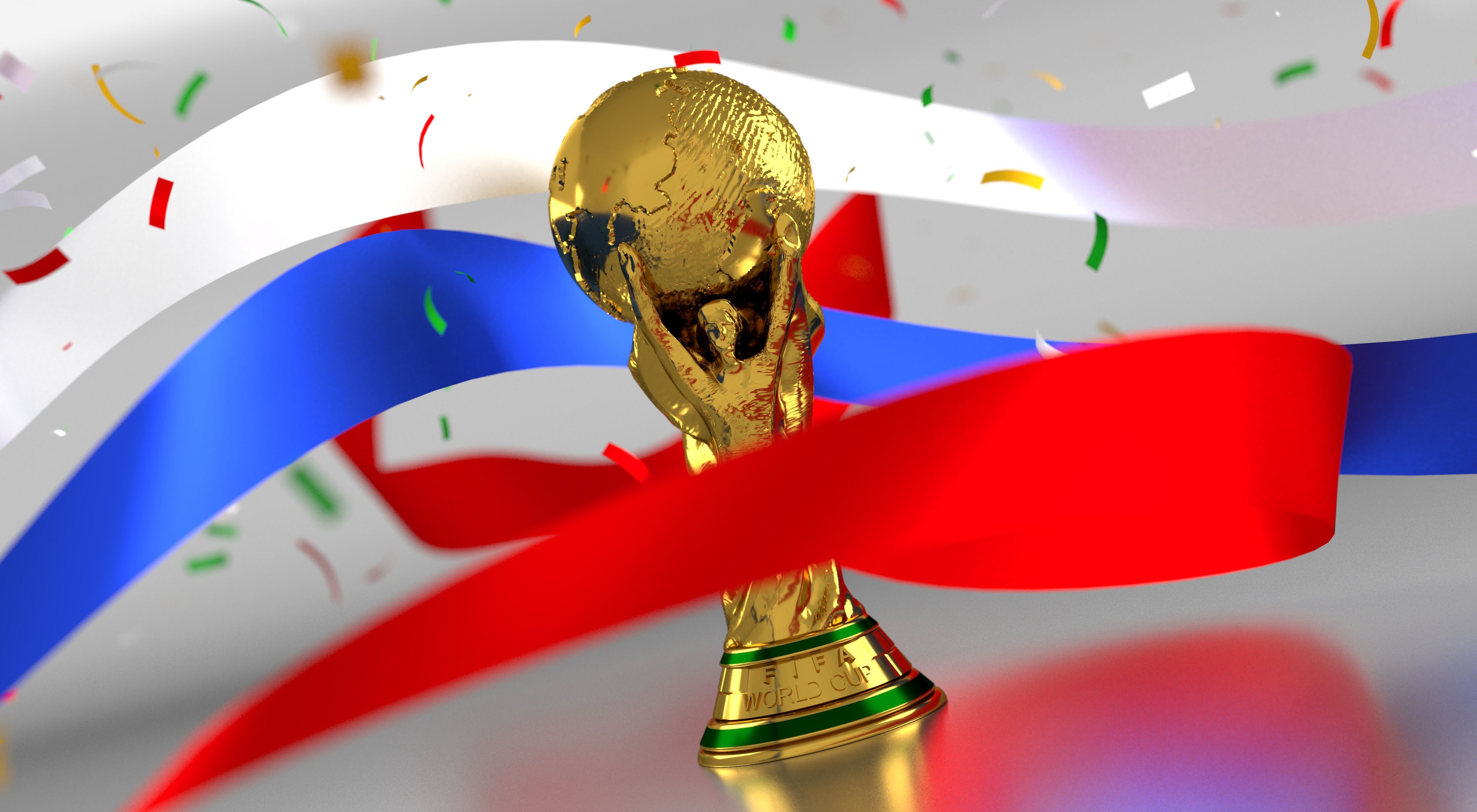 Trophy, soccer, football, game