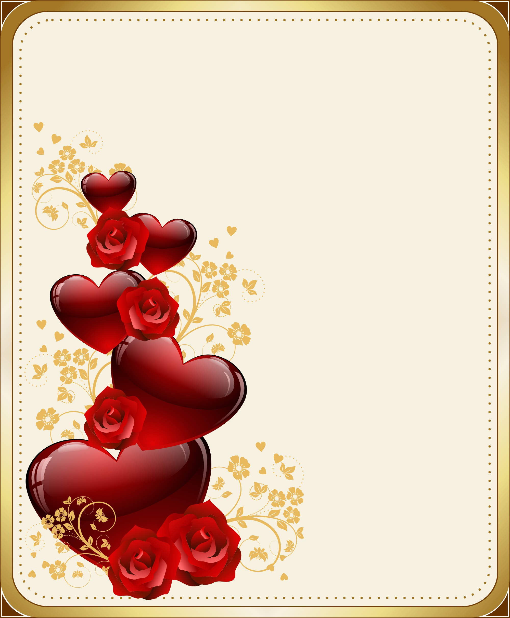 valentines, greeting, romantic, heart, red, roses,