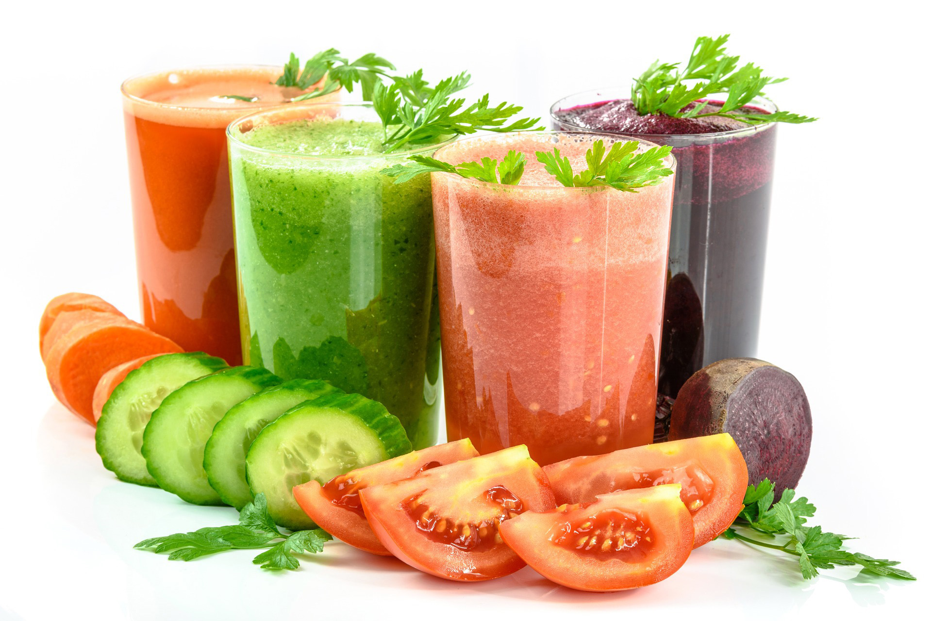 Vegetable juices natural
