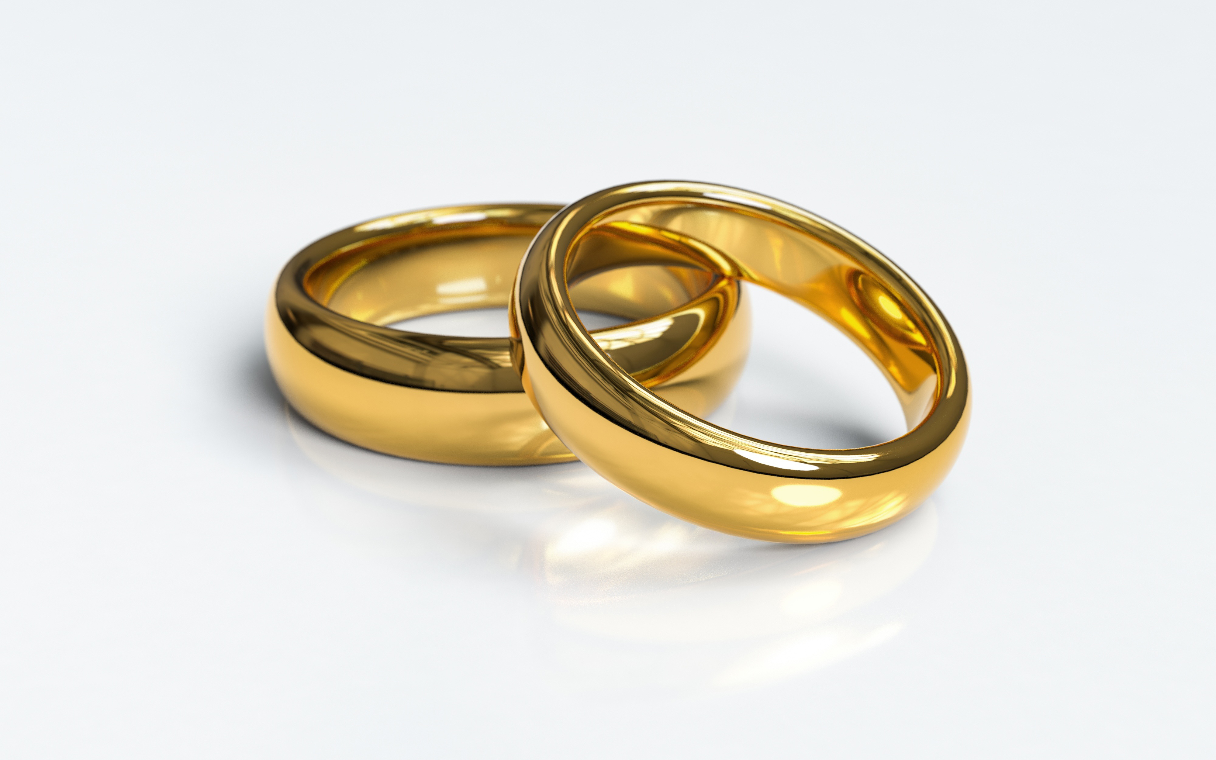 Wedding rings, gold, jewellery, marriage