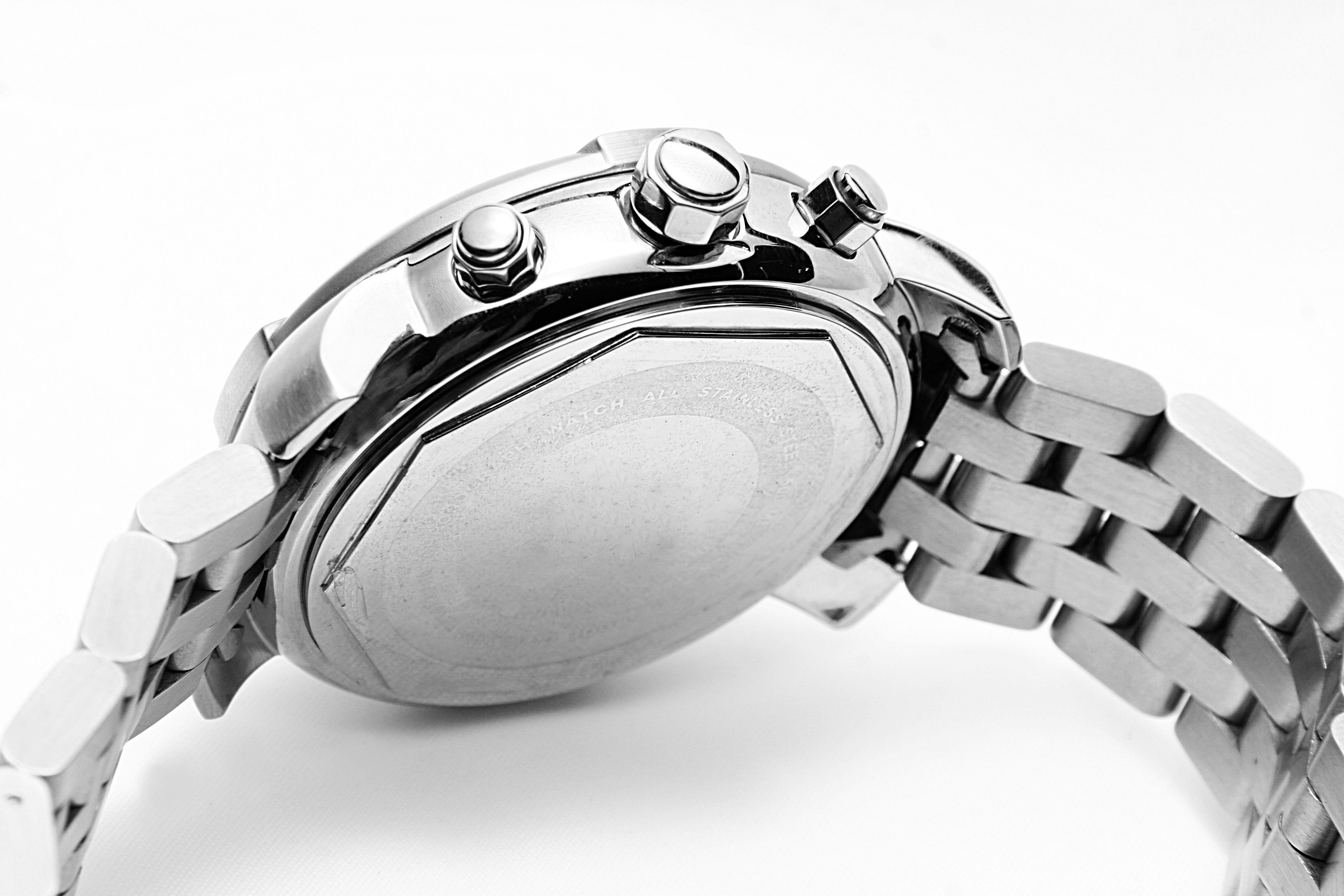mens, wrist watch, silver, time of, clock, close up,